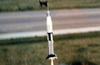 Estes 1/70 Saturn 1B launch on D12-3...Photo by Mom