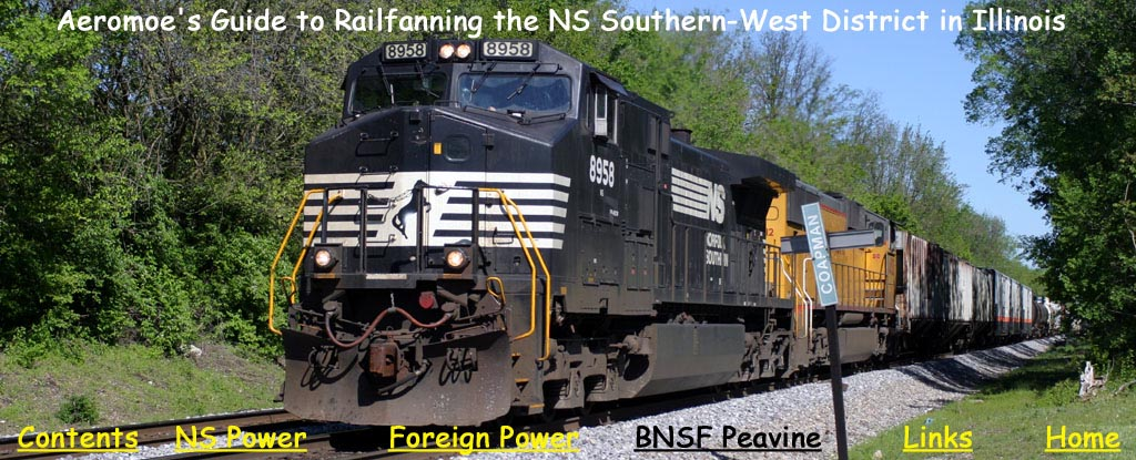 Railfanning The Norfolk Southern Southern West District