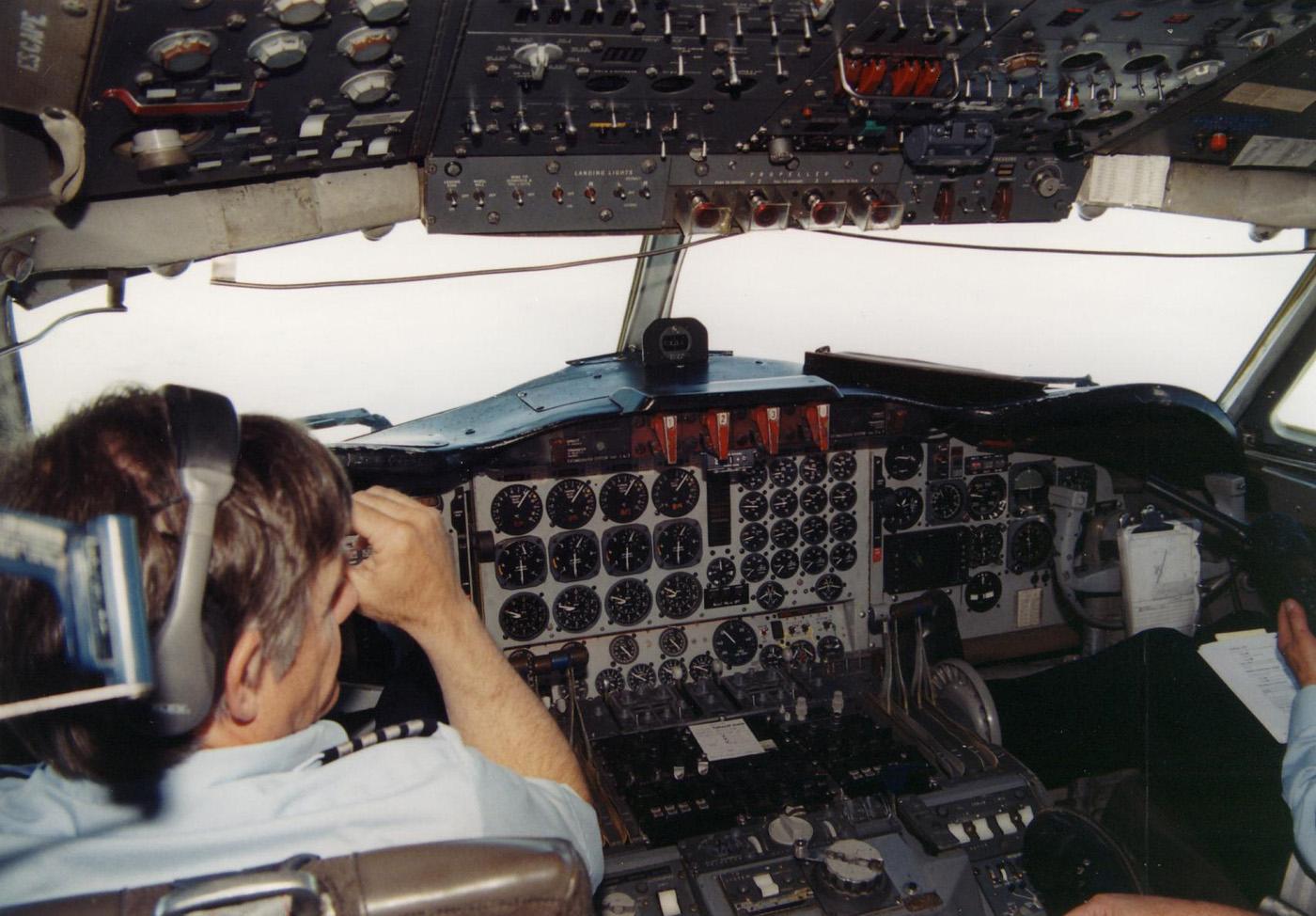Aeromoe S Reeve Aleutian Airways Lockheed L188 Electra