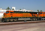 Note the 7695 behind the 7682. It lead the Repo train out later in the afternoon