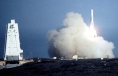 Atlas Launch from SLC-3, Vandenberg AFB, CA