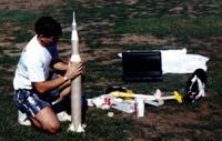 Moe Prepping Saturn V