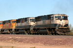 The three SD70MACs on the arse-end of this e/b Light Power Move supposedly  came over to the BNSF from the UP in Phoenix...that is direct from a BNSF buddy of mine